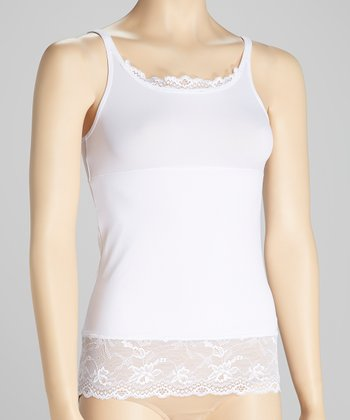 White Lace Shaper Camisole