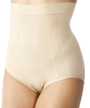 Nude Seamless High-Waisted Shaper Briefs - Women