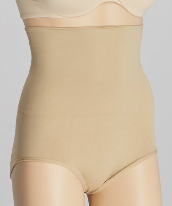 Nude High-Waist ShaperBrief - Women
