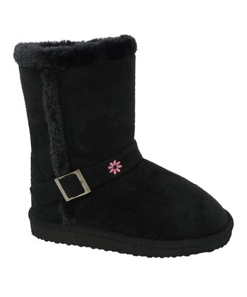 Black Buckle Gaia Boot