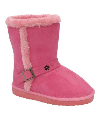 Fuchsia Buckle Gaia Boot