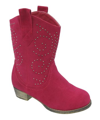 Fuchsia Studded Lobo Boot