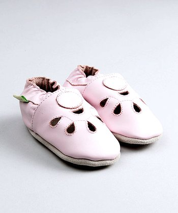 ShooFoo - Pink Mary Jane Soft Sole Shoes