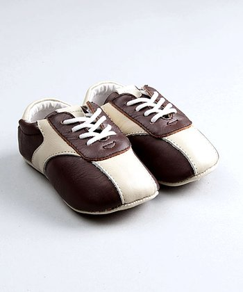 Brown & Cream Tim Baby Tennis Shoes