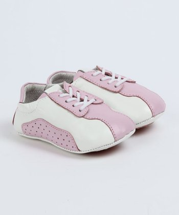 ShooFoo - Pink Janie Baby Tennis Shoes