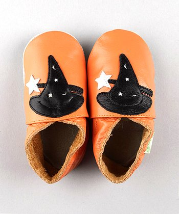 ShooFoo - Halloween Witch's Hat Soft Sole Shoes