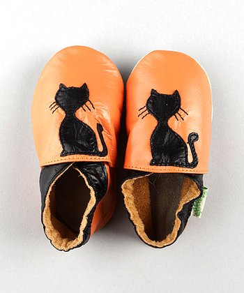 ShooFoo - Halloween Kitty Soft Sole Shoes