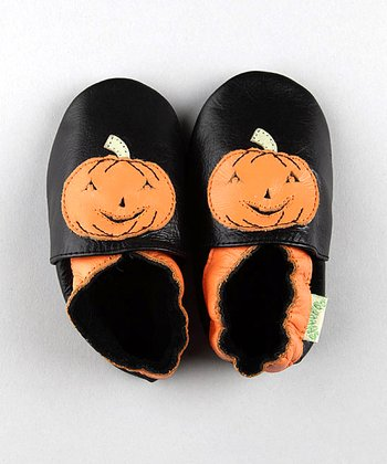 ShooFoo - Halloween Pumpkin Soft Sole Shoes