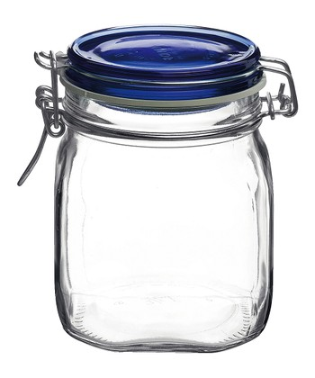 Fido Blue 25.25-Oz. Canning Jar - Set of 12