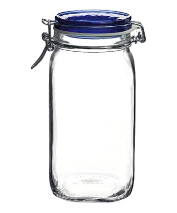 Fido Blue 67.75-Oz. Canning Jar - Set of Six