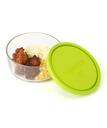 Green Frigoverre 22-Oz. Round Container