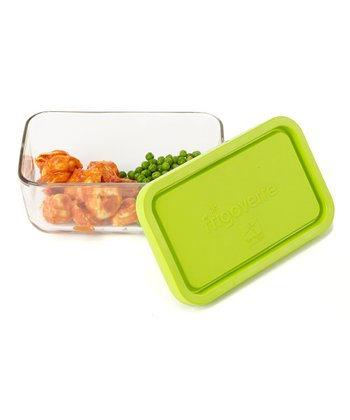 Green Frigoverre 37.25-Oz. Rectangular Container