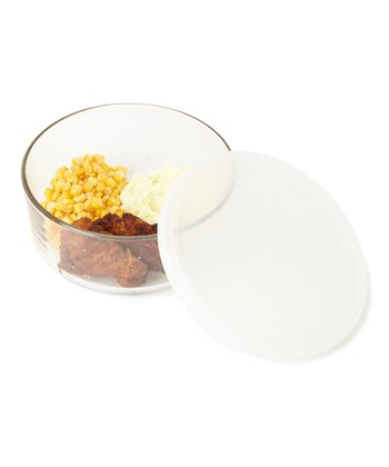 Frosted Frigoverre 24.75-Oz. Round Storage Container