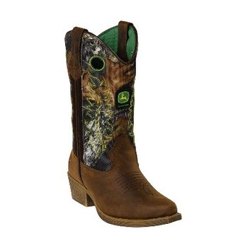 Mossy Oak Cowboy Boot - Kids