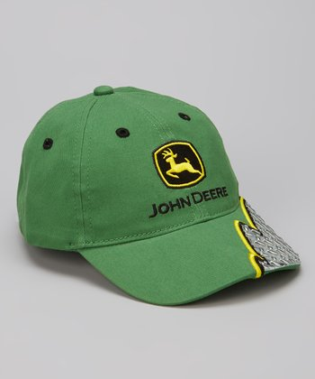Green Diamond Plate Baseball Cap