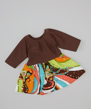 Groovy 70's Doll Dress