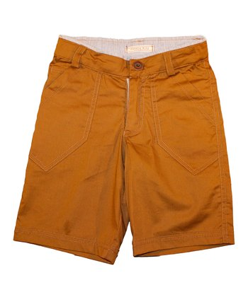 Chino Ace of Spades Shorts - Toddler & Boys