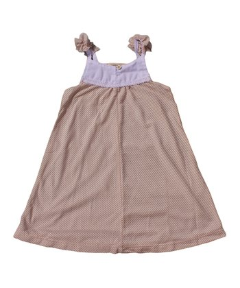 Blush Stripe Dress - Toddler & Girls