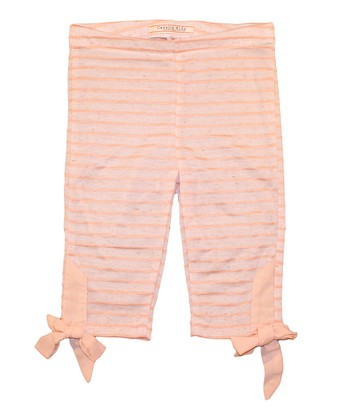 Blush Stripe Cheshire Leggings - Toddler & Girls