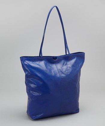 Latico Leather Royal Blue Nora Tote