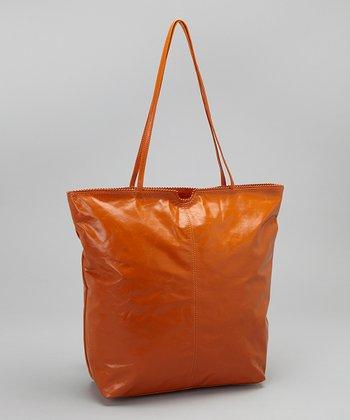 Latico Leather Burnt Orange Nora Tote