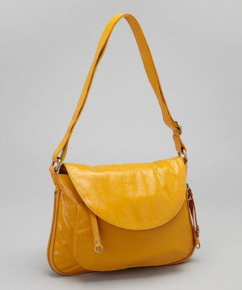 Latico Leather Gold Mitzi Shoulder Bag