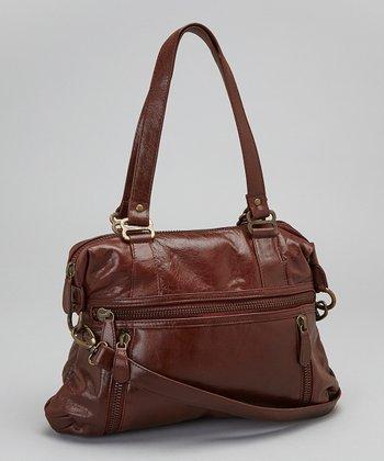 Latico Leather Brown Hazel Tote