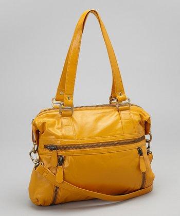 Latico Leather Gold Hazel Tote