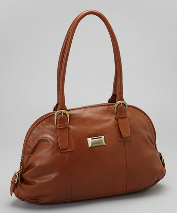 Latico Leather Tan Taylor Coin Keeper Tote