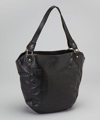 Latico Leather Black Waverly Shoulder Bag