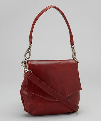 Latico Leather Red Petra Shoulder Bag
