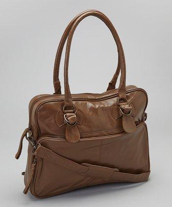 Latico Leather Mocha Fay Tote
