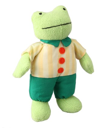Rick the Frog Plush Toy