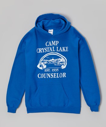 Royal Blue 'Camp Crystal Lake Counselor' Hoodie - Kids & Adults