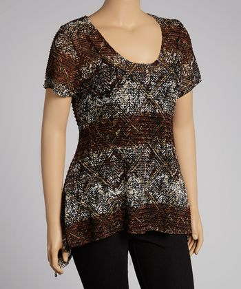 A Touch of Warmth: Plus-Size Apparel