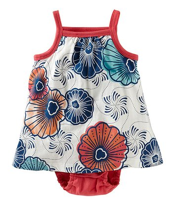 Milk Cape Lily Skirted Bodysuit - Infant