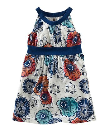 Milk Cape Lily Yoke Dress - Toddler & Girls