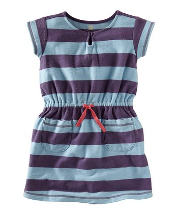 Powder Blue Cape Point Beach Dress - Infant