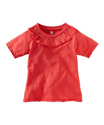 Red Pepper Petal Top - Infant