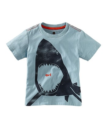 Powder Blue Great White Tee - Infant, Toddler & Boys