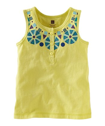 Yuzu Necklace Henley Top - Infant, Toddler & Girls