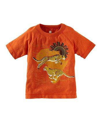 Carrot 'Racing Cheetah' Tee - Infant & Boys