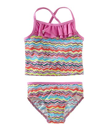 Martinica Rainbow Waves Tankini - Toddler