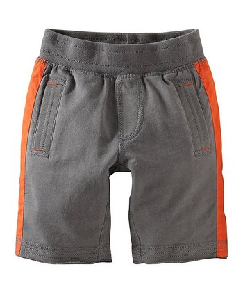 Thunder Stripe Gym Shorts - Infant, Toddler & Boys