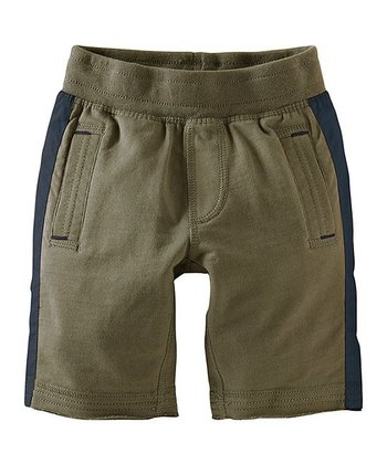 Lizard Stripe Gym Shorts - Infant