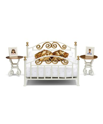 Småland Brass Bed Set