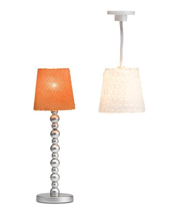 Småland Floor & Ceiling Lamp Set