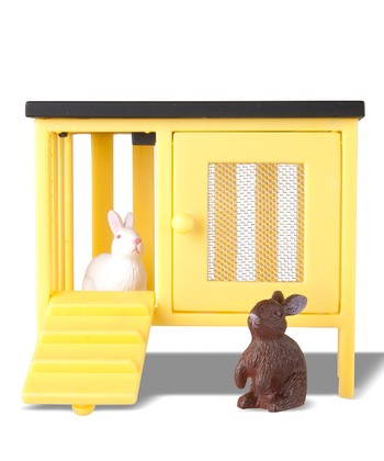 Småland Rabbit & Hutch Set