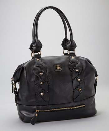 Black Bianca Satchel