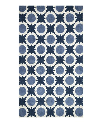 Denim Blue Piper Rug